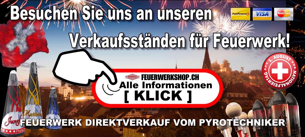 1. August Feuerwerk Direktverkauf