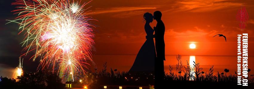 Hochzeitsfeuerwerk und Partyzubehör