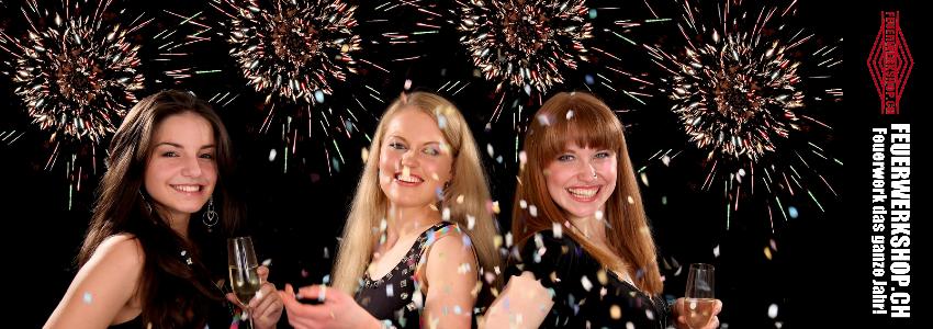 Partyartikel und Feuerwerk