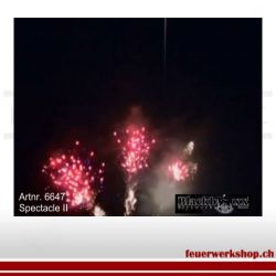 Showbox Spectacle II, 120 Schuss
