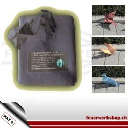 Pyropapier Origami - verschiedene Farben