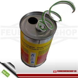 Mr. Smoke Rauchkörper mit Elektrozünder - Schwarz