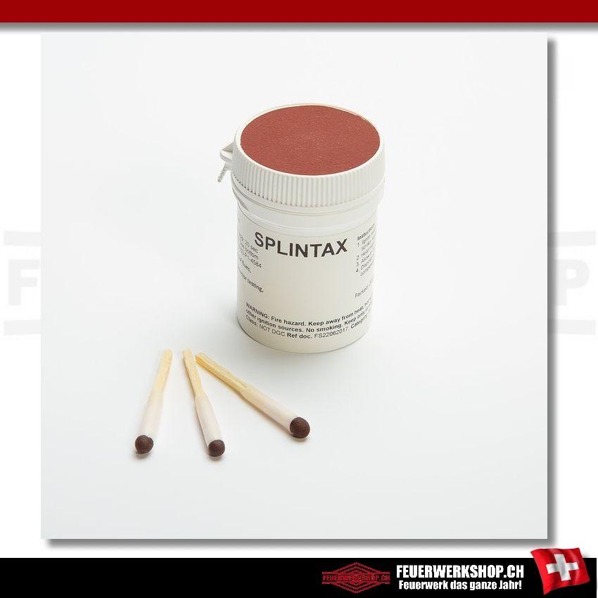 Splintax Prüfrauch - Rauchhölzer für Strömungstests und Rauchmelderprüfungen