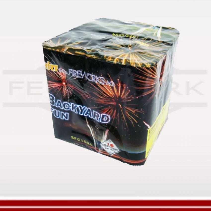 Backyard Fun - Feuerwerksbatterie