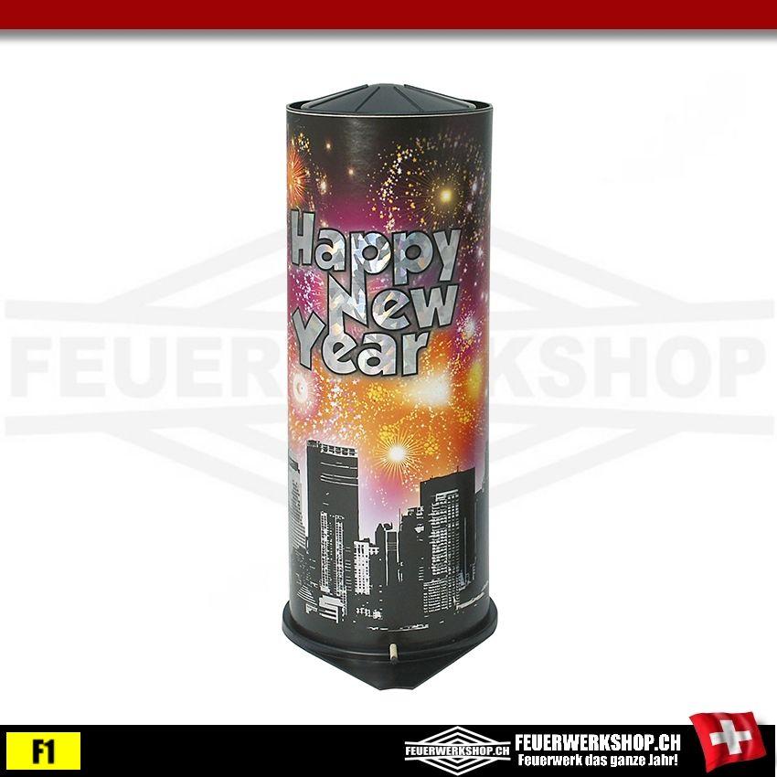 Tischbombe Happy New Year - Tischfeuerwerk
