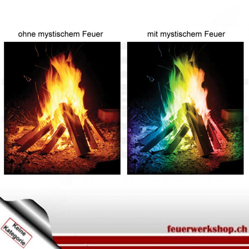 Mystisches Feuer - farbiges Feuer