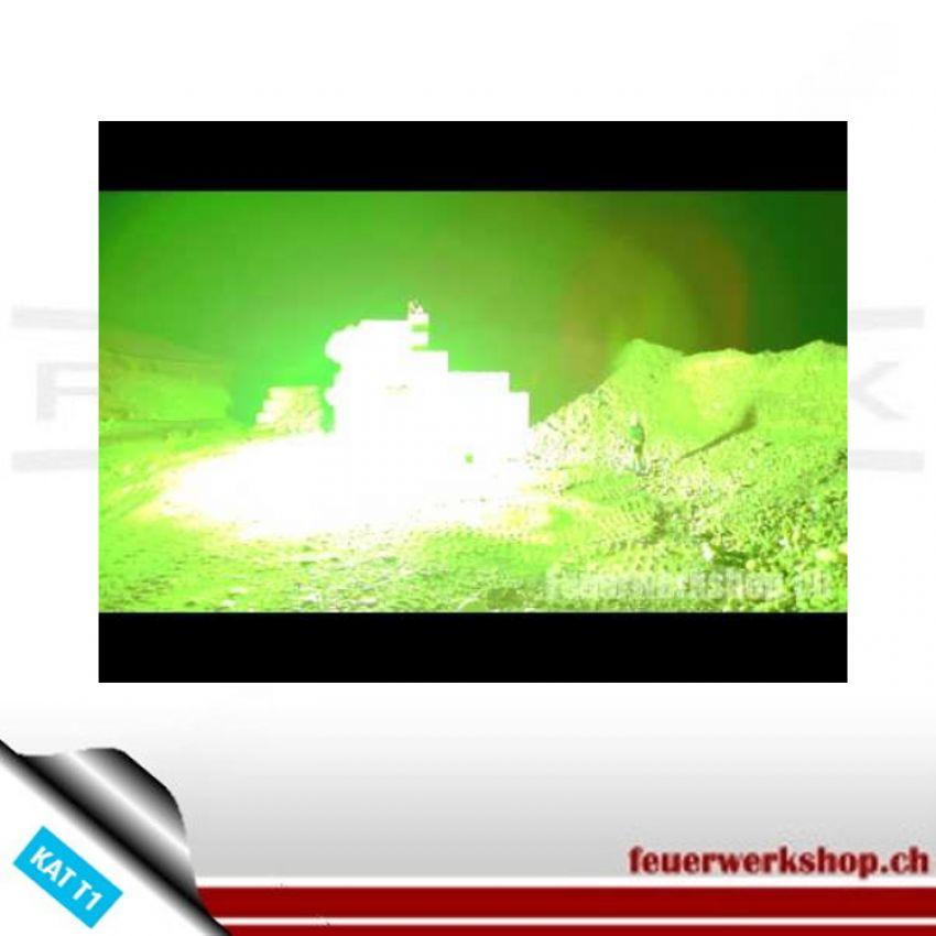 Flammenprojektor 200gr grün