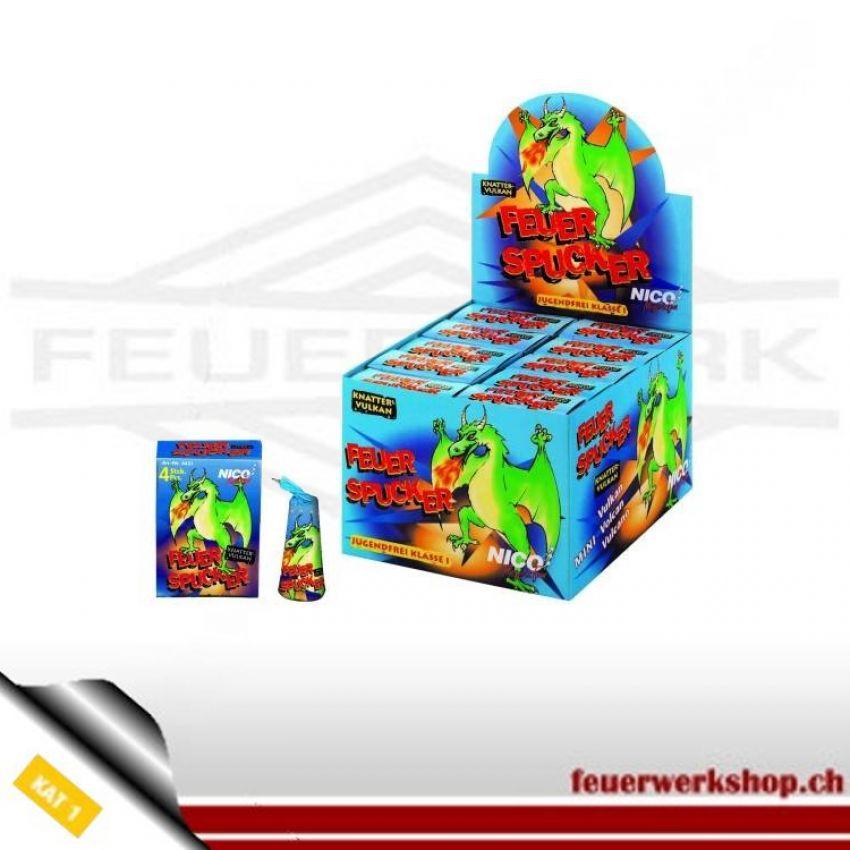 Nico Feuerspucker - kleine Feuerwerksvulkane