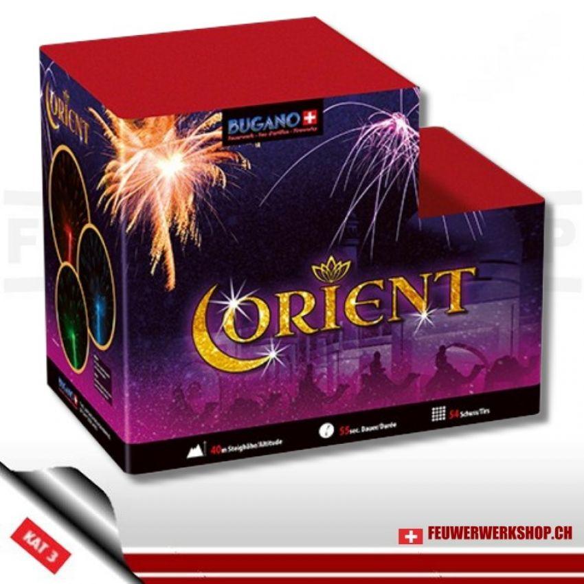 *Orient* Feuerwerksbatterie von Bugano