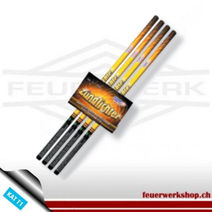 Anzündlicht für Zündschnüre - Feuerwerkskörper