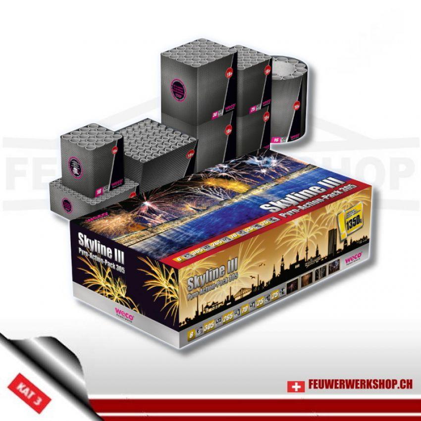 Weco Batteriefeuerwerk *Skyline 3*