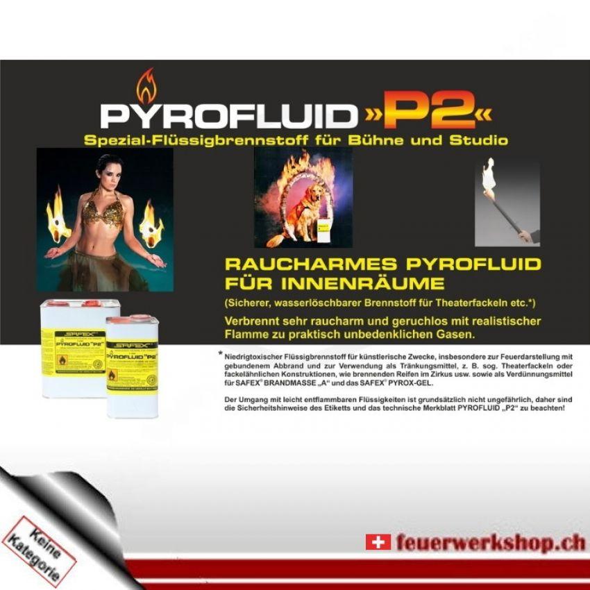 Safex P2 Spezial Flüssigbrennstoff für Bühne und Studio