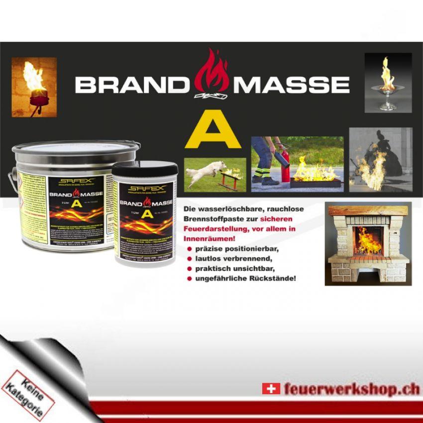 Brennstoffpaste - Brandmasse A - Brandgel von SAFEX® (10l)