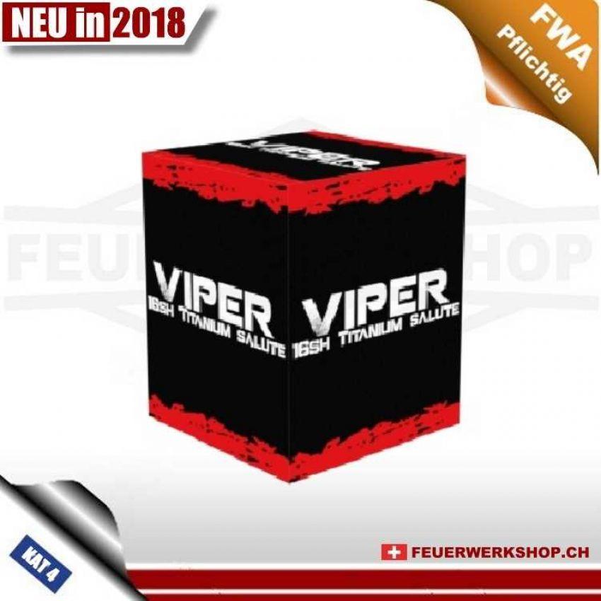 16 Schuss Batteriefeuerwerk *Viper*