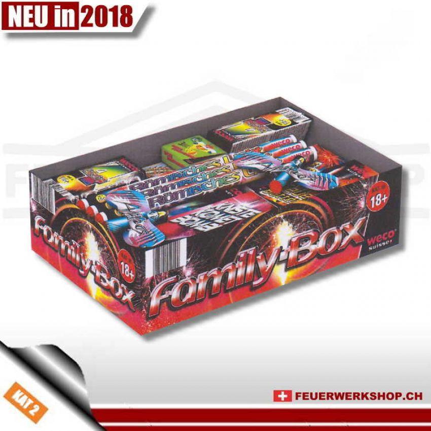 *Family-Box* Feuerwerksortiment