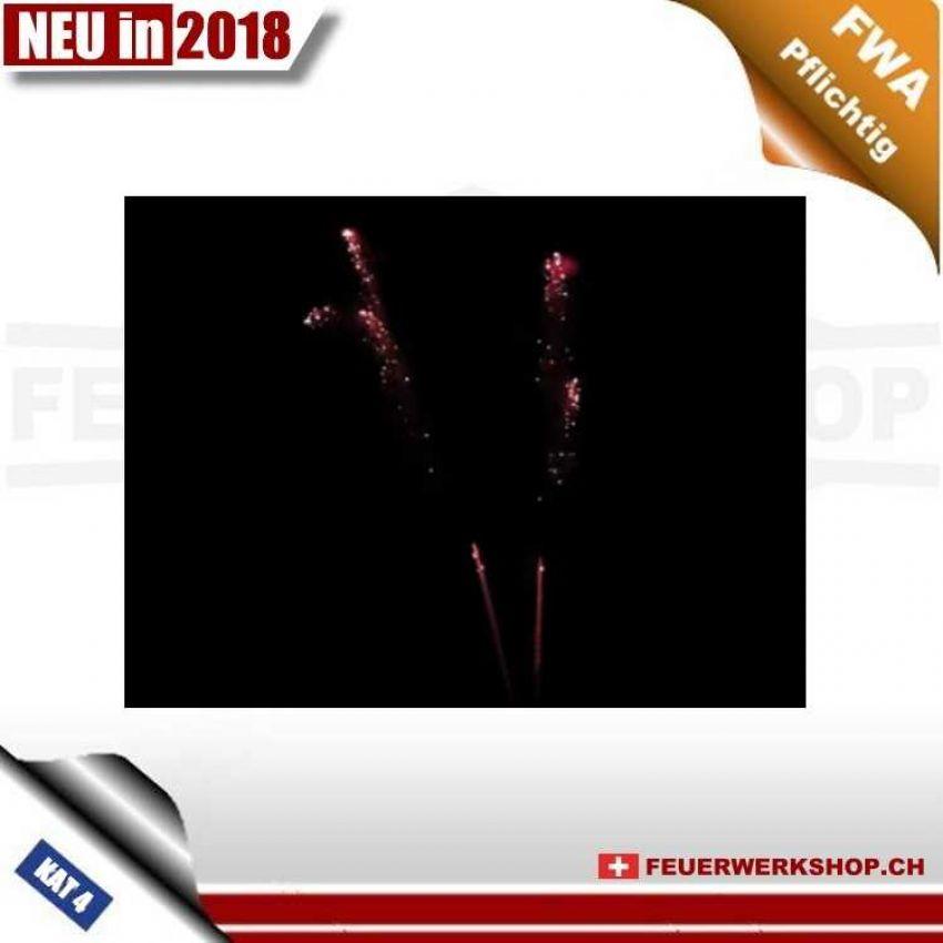 Feuerwerkskörper FWA *Red Glitter*