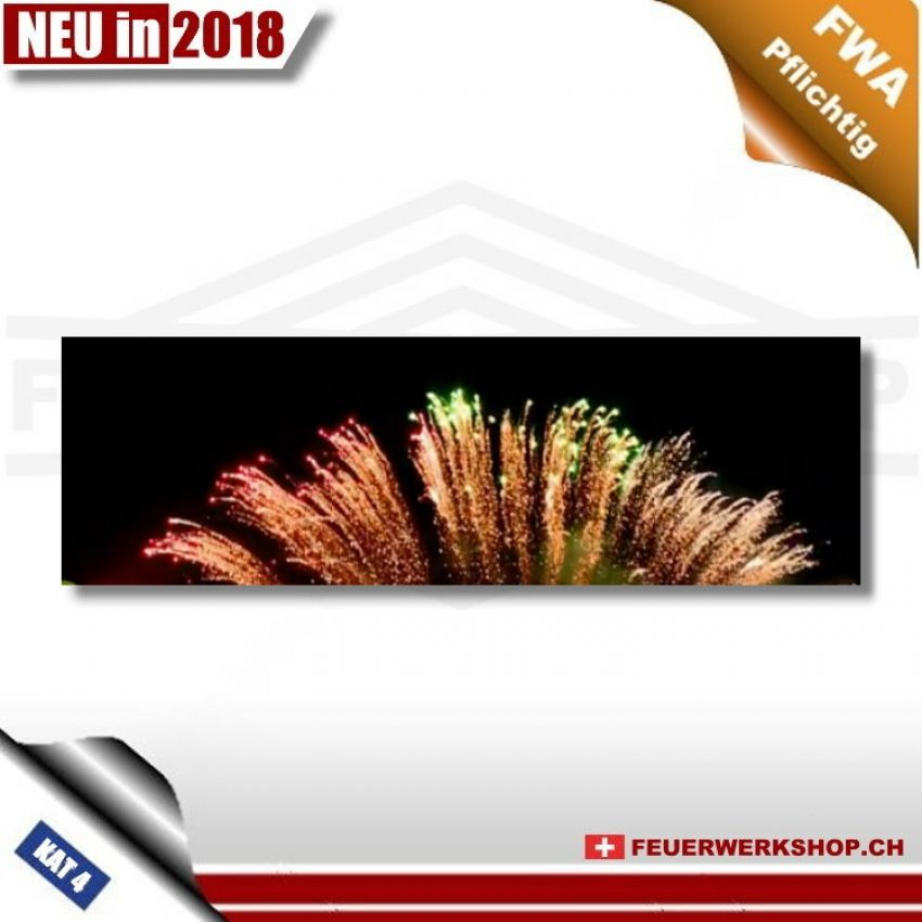 Feuerwerk *Single Line – Three Changed Color Brocade Crown