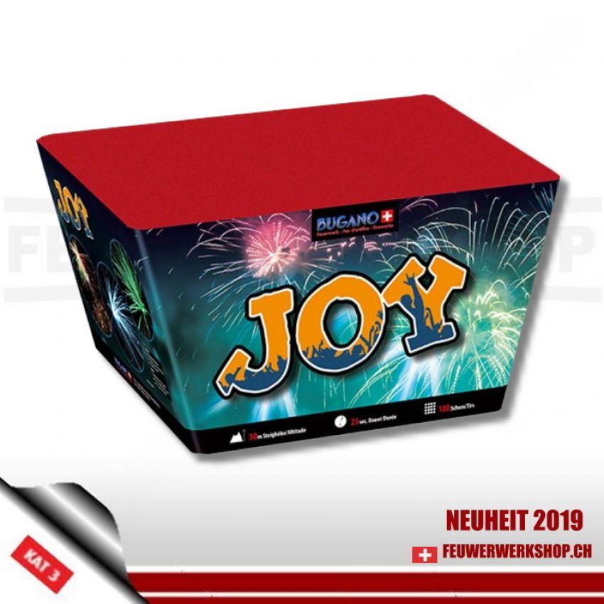 Feuerwerk mit gefächertem Abschuss *Joy* von Bugano