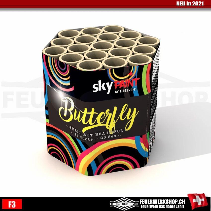 19 Schuss Feuerwerk Batterie *Butterfly*