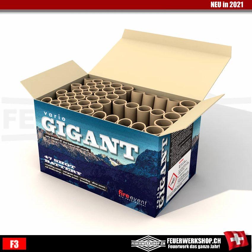 Premium Feuerwerksbatterie *vario Gigant*