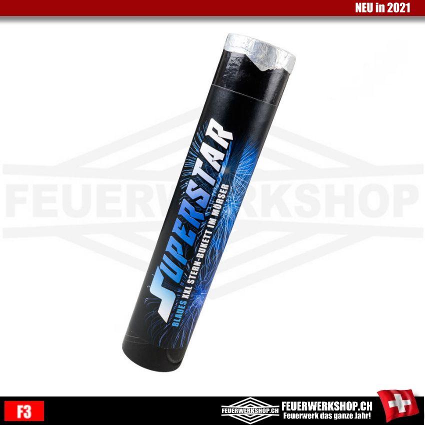 Bombenrohr Blau XXL Superstar