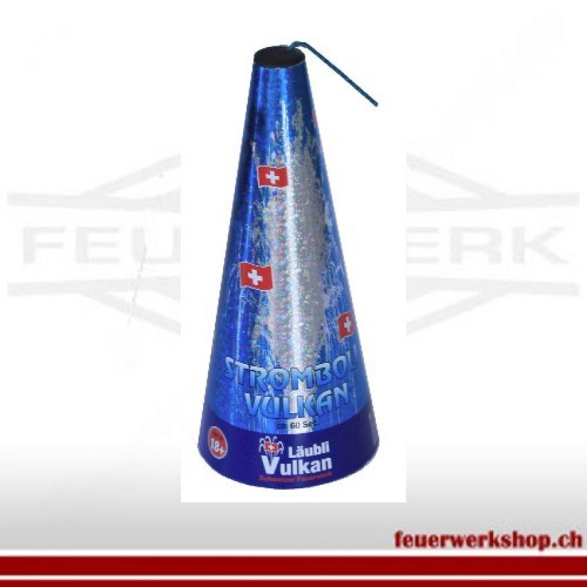 Silber Vulkan(Zuckerstock) 60Sekunden
