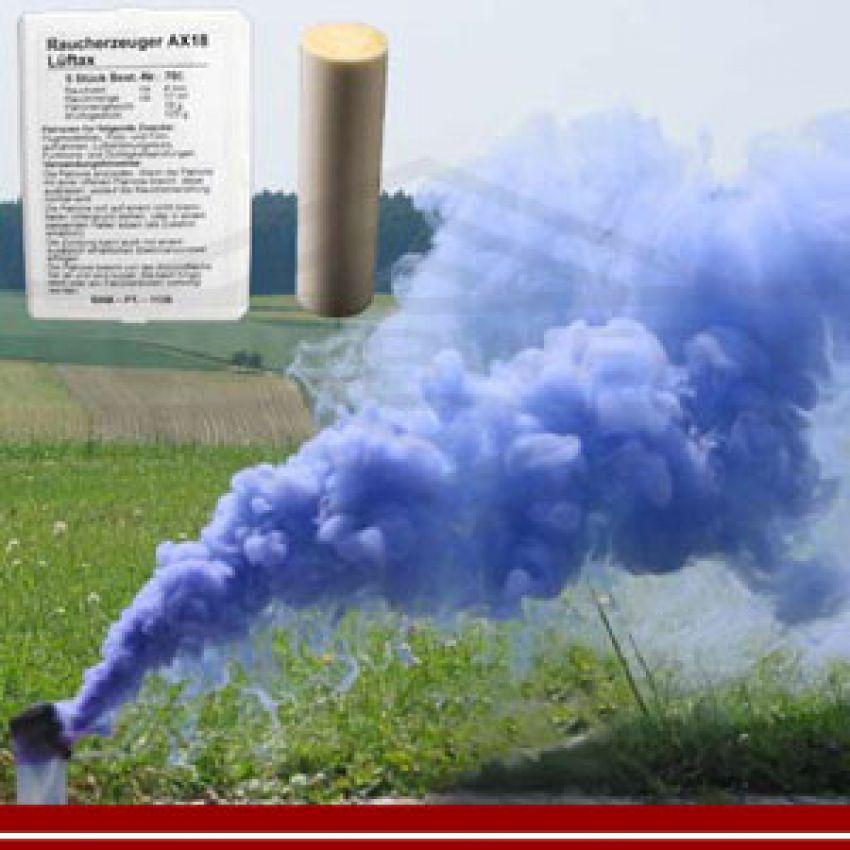 Rauchpatrone für Modellbau AX-18 - 5er Set, blau