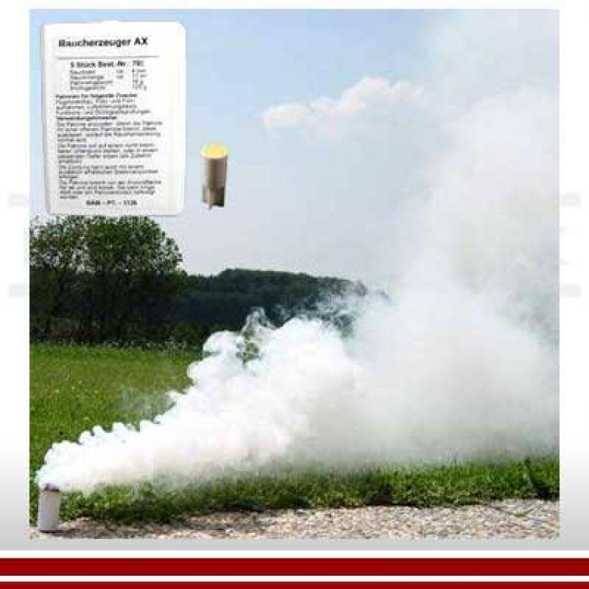 Rauchpatrone AX-18-Set, weiss (Ventilax)