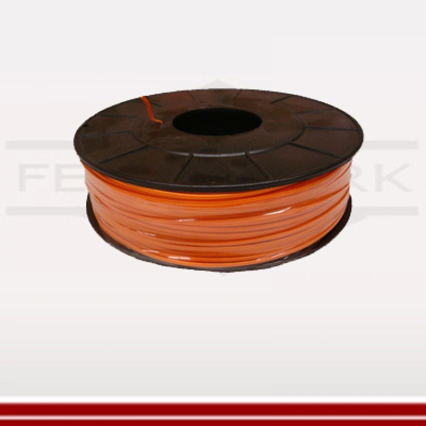 Elektrodraht orange - 2-adrig