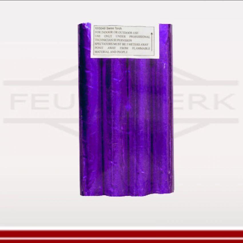 Bengallanze violett - Bengalo mit Zünndschnur