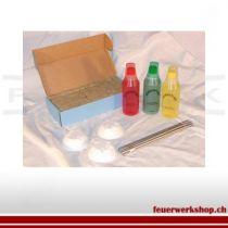 Regenbogenflammen - Bunte Flammen ideal geeignet zur Gestaltung für Buffets