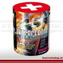 Weco Feuerwerksbatterie *Interceptor*