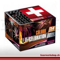 Feuerwerksbox *Colour Celebration* von Weco