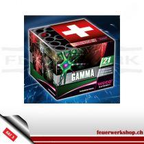 Silvester-Feuerwerksbatterie *Gamma* von Weco