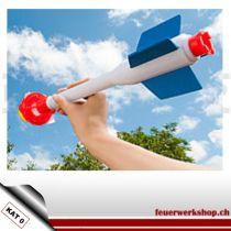 Super-Knall-Rakete, ohne Pyrotechnik