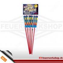 Silvester Feuerwerk Raketen *Starry Night Rockets* von Weco