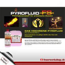Pyrofluid FS - Flüssigbrennstoff für artistische Auftritte
