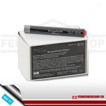 Blackboxx Lanzen-Figurenlichter - 25er Pack, silber (Farblanzen)