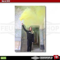 Handrauchfackel SMOKE-X gelb