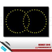 Lichterbild Bastelset Ringe
