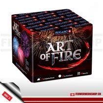 Batteriefeuerwerk *Art of Fire* von Bugano