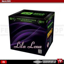 25 Schuss Batterie Feuerwerk *Lila Lena*