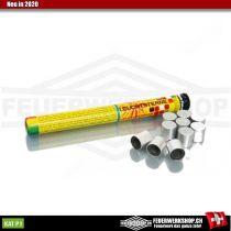 Pyromunition - 10 farbige Signalmunition Kaliber 15mm von Zink