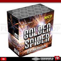Nico Feuerwerkbatterie *Golden Spider*