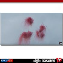 Rauch Kugelbombe 100mm rot
