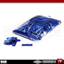 Glitzer Konfetti metallic Blau - lose - 1 kg