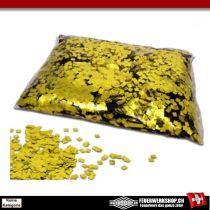 Metallic Konfetties lose - Gold Raindrops