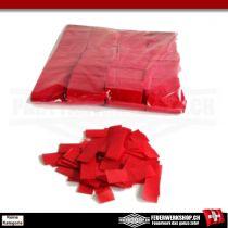 Lose Papierkonfetti mit Slow Fall Rot