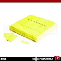 Leuchtkonfetti Gelb - Slowfall - Leuchteffekt unter UV Licht