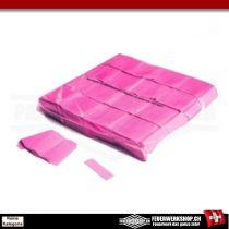 Leuchtkonfetti Pink - Slowfall - Leuchteffekt unter UV Licht